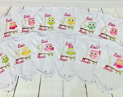 Kit Body 1 a 12 Meses Personalizado