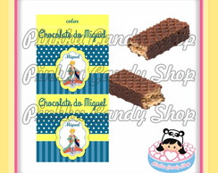 Rótulo Chocolate Wafer Duplo Principe