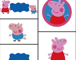 Matriz de bordado - Kit Peppa Pig