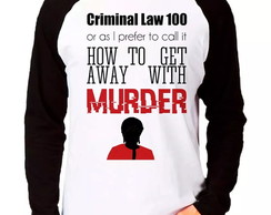 Camiseta How To Get Away With Murder ML