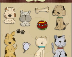 Kit Digital Animais 35