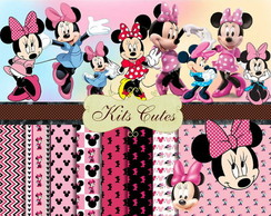Kit Papéis Minnie 08