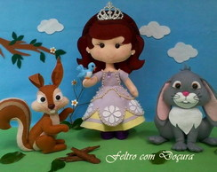 Kit Princesa Sophia