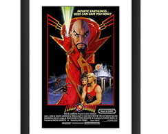 Quadro Filme Flash Gordon Tv Retro Queen