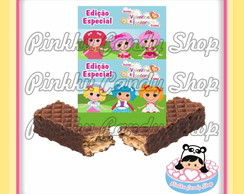 Rótulo Chocolate Wafer Lalaloopsy