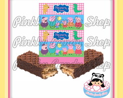 Rótulo Chocolate Wafer Peppa
