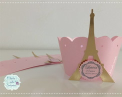 Wrapper para cupcake Paris