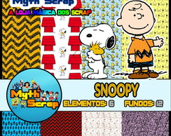 Kit Digital Scrapbook SNOOPY DOG