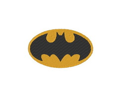 Matriz de bordado - Batman - logo