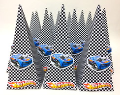 Cone para guloseimas Hot Wheels
