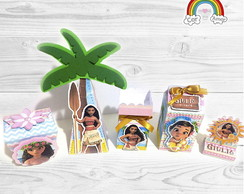Kit Scrap Moana - BRINDE Convite Virtual