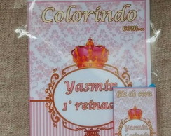 Kit de colorir coroa