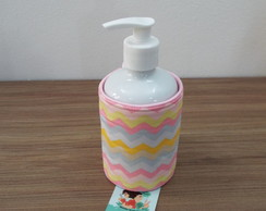 Dispenser para Álcool Gel Capa Chevron