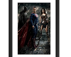 Quadro Filme Batman Vs Superman Dc Comic