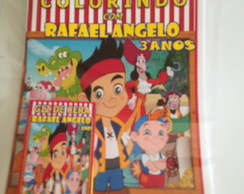 Kit de colorir Jack e os piratas