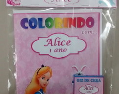 Kit de colorir Alice