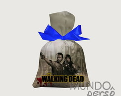 Saquinho The Walking Dead 15cm x 20cm