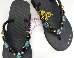 Havaianas High Fashion Preta