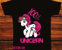 Camiseta 100% unicorn