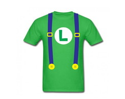 Camiseta Adulto Luigi Bros