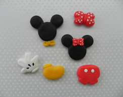 Aplique Mickey/Minnie Variados