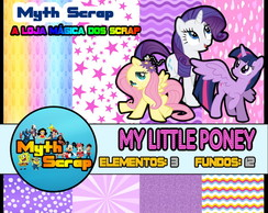 Kit Digital Scrapbook MY LITTLE PONEY