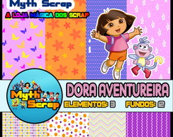 Kit Digital Scrapbook DORA AVENTUREIRA