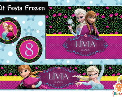 Kit Digital Frozen (5 rótulos)