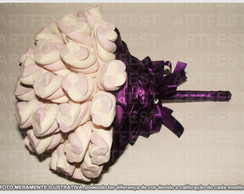 BOUQUET MARSHMALLOW BRANCO/LILAS