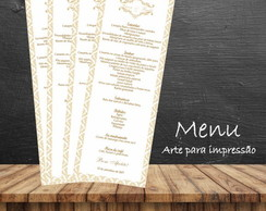 Menu - Arte digital