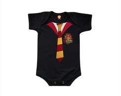 Body ou Camiseta Harry Potter Grifinória Hogwarts