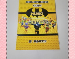 Revistinha para colorir Lego Batman