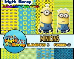 Kit Digital Scrapbook MINIONS