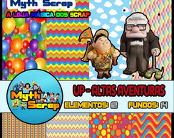 Kit Digital Scrapbook UP ALTAS AVENTURAS