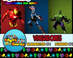 Kit Digital Scrapbook VINGADORES