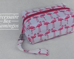 Necessaire Box - Flamingos