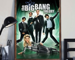 Quadro The Big Bang Theory c Moldura A3