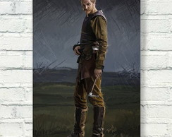 Placa decorativa - Floki - Vikings