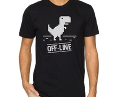 CAMISETA GEEK OFF-LINE