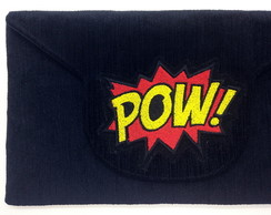 Clutch com Bordado POW LJ7