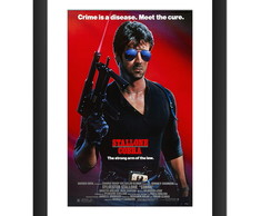 Quadro Filme Stallone Cobra Retro Cinema