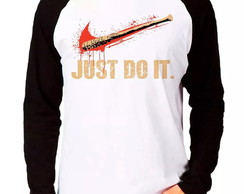 Camiseta Walking Dead Just do IT M Longa
