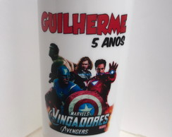Copo long drink vingadores