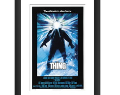 Quadro Filme The Thing Terror Trash Art