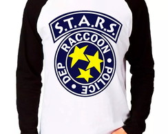 Camiseta Stars Police Raccoon RE M Longa