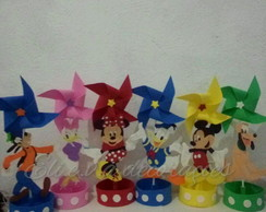 Centro de mesa da turma do Mickey