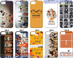 Capinha capa celular ORANGE NEW BLACK