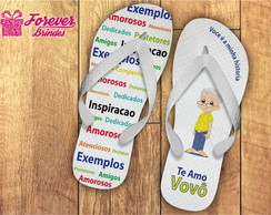 SANDÁLIAS CHINELO DIA DO AVÔ