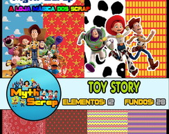 Kit Digital Scrapbook TOY STORY