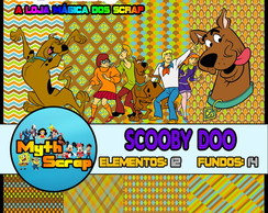 Kit Digital Scrapbook SCOOBY DOO
